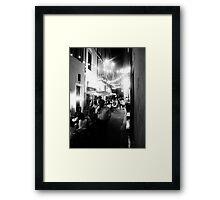 Nîmes Nightlife Framed Print