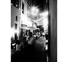Nîmes Nightlife Photographic Print