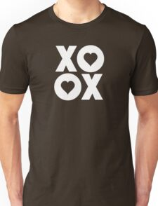 XOXO Hugs and Kisses Valentine's Day Unisex T-Shirt