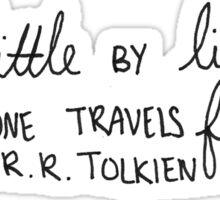 J.R.R. Tolkien Quote  Sticker