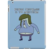 Because facecalming is too mainstream iPad Case/Skin