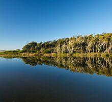 Blue Mirror Lake by photosinc