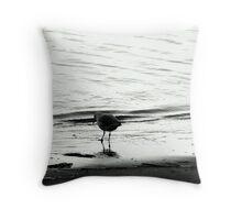 Ghosty Gull Throw Pillow