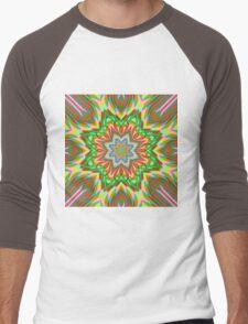 Abstract / Psychedelic / Geometric Artwork Men's Baseball ¾ T-Shirt
