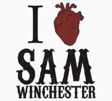Anatomical Love - Sam Winchester by tripinmidair
