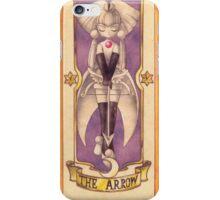 "Clow card ""The arrow"" iPhone Case/Skin"