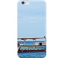 Cozumel Excursion Boats iPhone Case/Skin