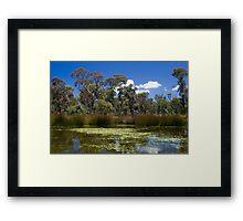 Cathedral Rocks National Park Framed Print