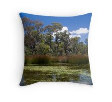 Cathedral Rocks National Park Throw Pillow