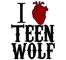Anatomical Love - Teen Wolf Photographic Print