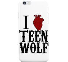 Anatomical Love - Teen Wolf iPhone Case/Skin