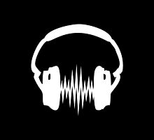 Headphone, Music, Disco, Dance, Electro, Trance, Techno, Wave, Pulse,  by boom-art