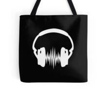 Headphone, Music, Disco, Dance, Electro, Trance, Techno, Wave, Pulse,  Tote Bag