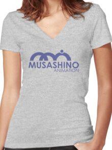 Musani Studio Women's Fitted V-Neck T-Shirt