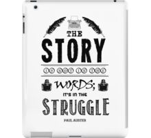Writing And Writers Design Paul Auster Quote iPad Case/Skin