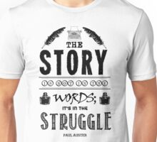 Writing And Writers Design Paul Auster Quote Unisex T-Shirt
