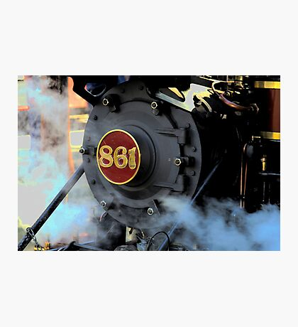 Engine 861 Ready To Ride The Rails Photographic Print