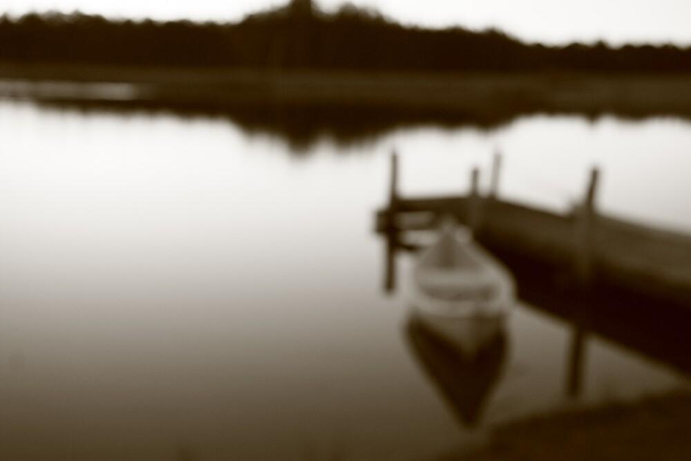 Stillness on the water by Stephen Denham
