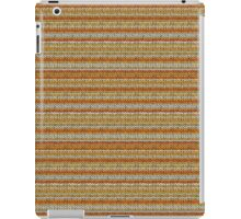 Knitted Pattern Set 3 - Orange/Yellow iPad Case/Skin