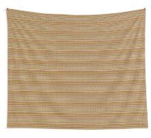 Knitted Pattern Set 3 - Orange/Yellow Wall Tapestry