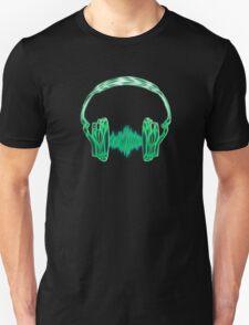 Headphone, Music, Disco, Dance, Electro, Trance, Techno, Wave, Pulse,  Unisex T-Shirt