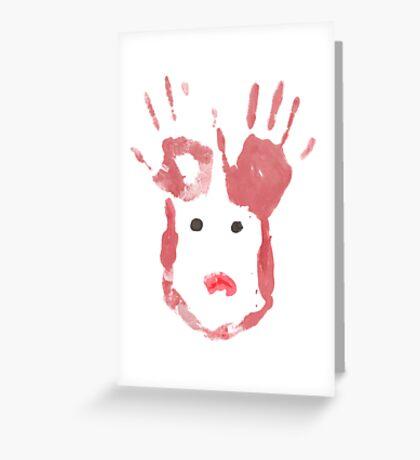 Rudolph Greeting Card