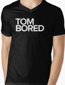 Tom Bored Mens V-Neck T-Shirt