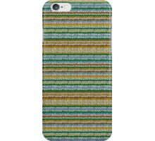 Knitted Pattern Set 4 - Orange/Yellow/Green/Blue iPhone Case/Skin
