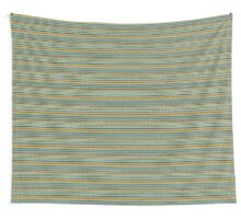 Knitted Pattern Set 4 - Orange/Yellow/Green/Blue Wall Tapestry