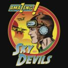 Sky Devils Comic Motif by Steve Dunkley