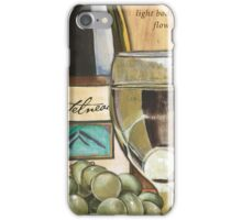 Riesling and Grapes iPhone Case/Skin