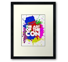 Art of the Con Framed Print