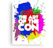 Art of the Con Canvas Print
