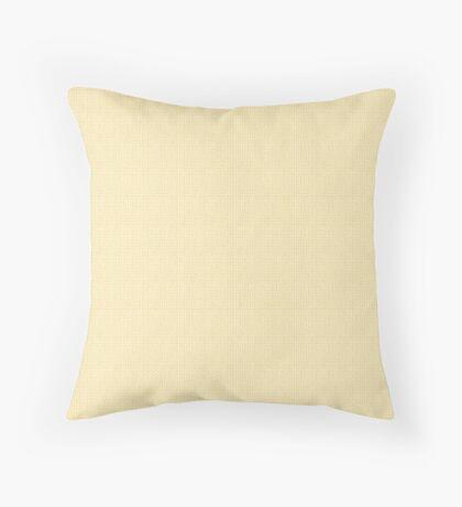 Knitted Pattern - Set 5 - Cream Throw Pillow