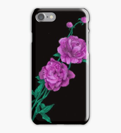 Delicate Beauty (peony) iPhone Case/Skin