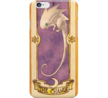 """Clow card """"The Change"""" iPhone Case/Skin"""