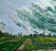 Before Thunder Storm by Claudia Hansen