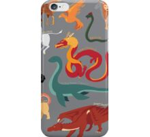 Myths and Monsters iPhone Case/Skin