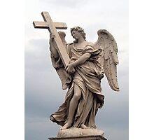 Angel in Stone  Photographic Print