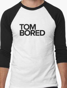 Tom Bored - black Men's Baseball ¾ T-Shirt