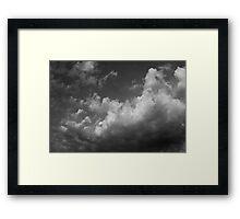 Thursday Morning Clouds Framed Print
