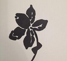 black flower by aliciamurphy