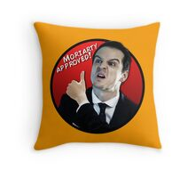Moriarty Approved! Throw Pillow