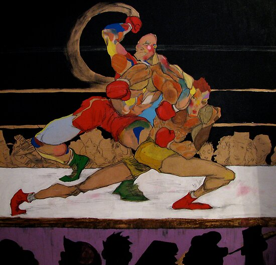 Theseus and the Minotaur (a boxing Revision) by Cordell Cordaro