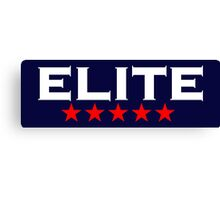 ELITE, 5 stars, For the Best of the Best! Canvas Print