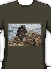 Exit Stage Right - Minack Theatre T-Shirt