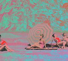 BEACH GOERS GO FUNKY by taudalpoi