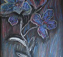 Flowers Blue... by Christina Rodriguez