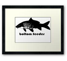 bottom feeder Framed Print