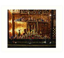 Babushkas - Royal Arcade, Melbourne, Victoria, Australia Art Print